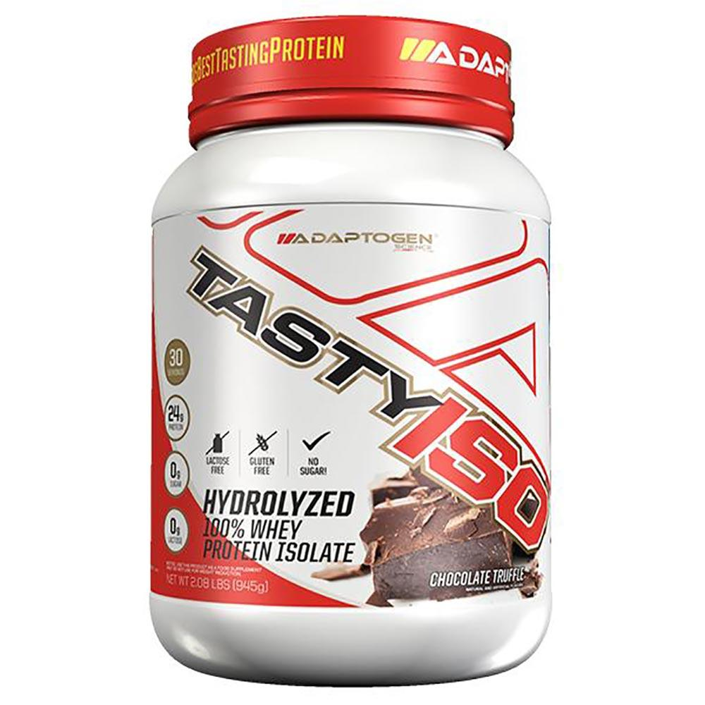 Adaptogen Science Tasty Iso 2 Lbs Protein Powders Adaptogen Science Chocolate Truffle  (1631699599403)