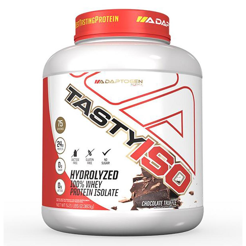 Adaptogen Science Tasty Iso 5.21 Lbs Protein Powders Adaptogen Science Chocolate Truffle  (1631778537515)