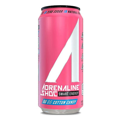 Adrenaline Shoc 12/Case Drinks Adrenaline Shoc Cotton Candy  (4344211341377)