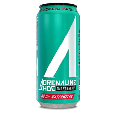 Adrenaline Shoc 12/Case Drinks Adrenaline Shoc Watermelon  (4344211341377)