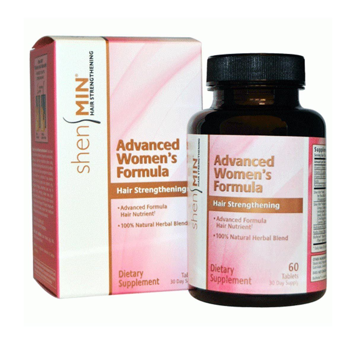 Biotech Shen Min Advanced Hair Formula for Women 60 Tabs Personal Care Biotech  (1057948500011)