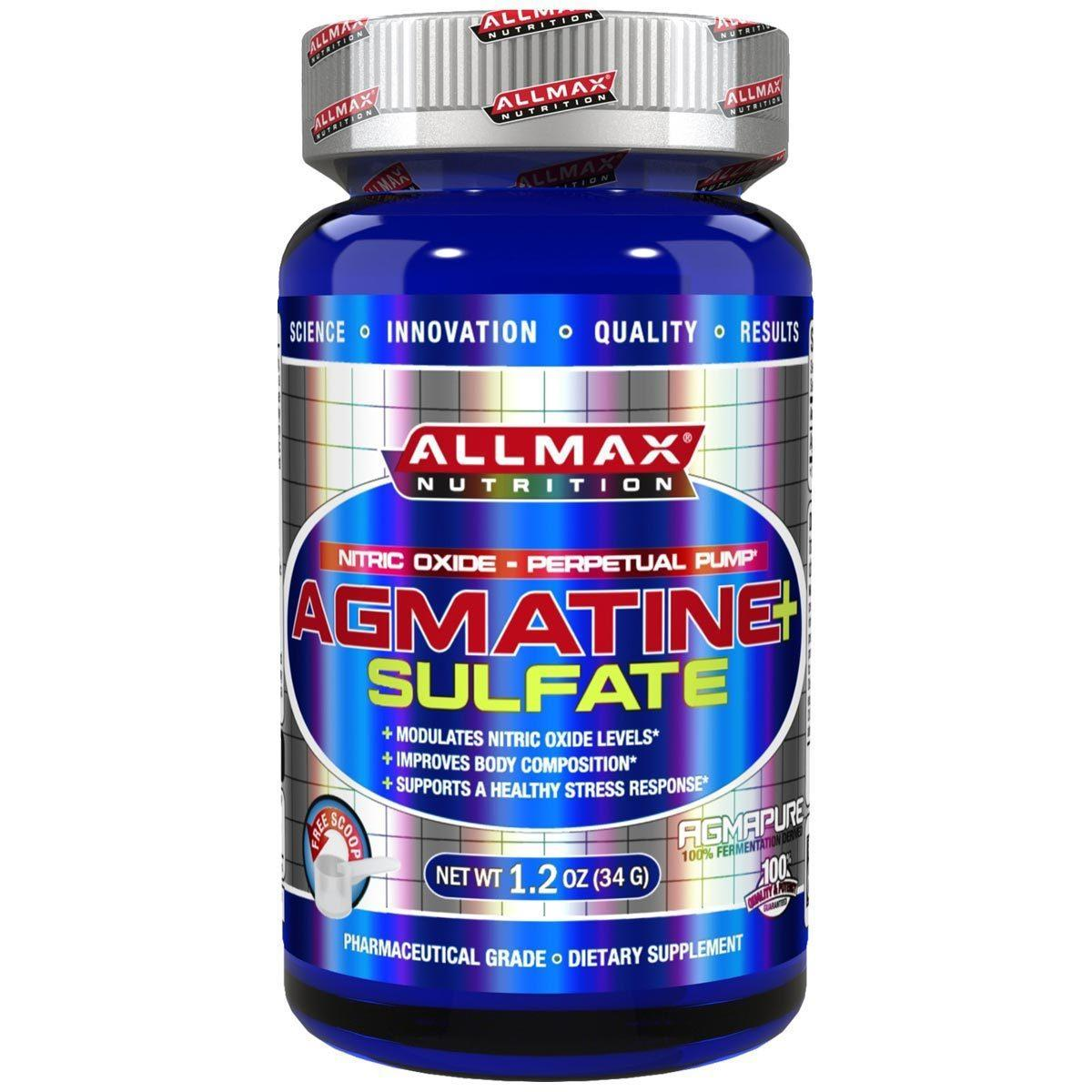 Agmatine Sulfate by Allmax Nutrition Other Supplements Allmax Nutrition  (1058944581675)