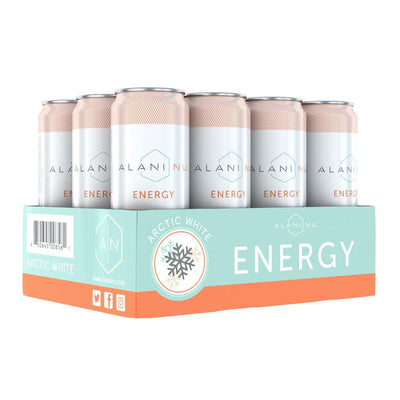 Alani Nu Energy RTD 12/Case Drinks Alani Nu Arctic White  (4407836246081)