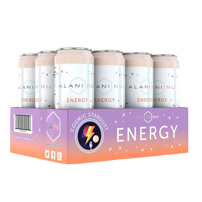 Alani Nu Energy RTD 12/Case Drinks Alani Nu Cosmic Stardust  (4407836246081)
