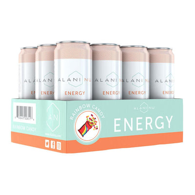 Alani Nu Energy RTD 12/Case Drinks Alani Nu Rainbow Candy  (4407836246081)