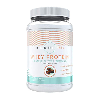 Alani Nu Whey Protein 2lb Protein Powders Alani Nu PEANUT BUTTER BROWNIE  (1776697704491)