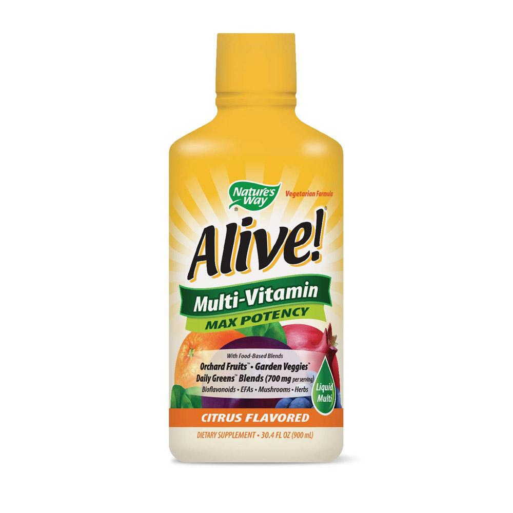 Nature's Way Alive Liquid Multivitamin 30oz | Vitamins & Minerals Multi Vitamins Nature's Way  (1796797726763)