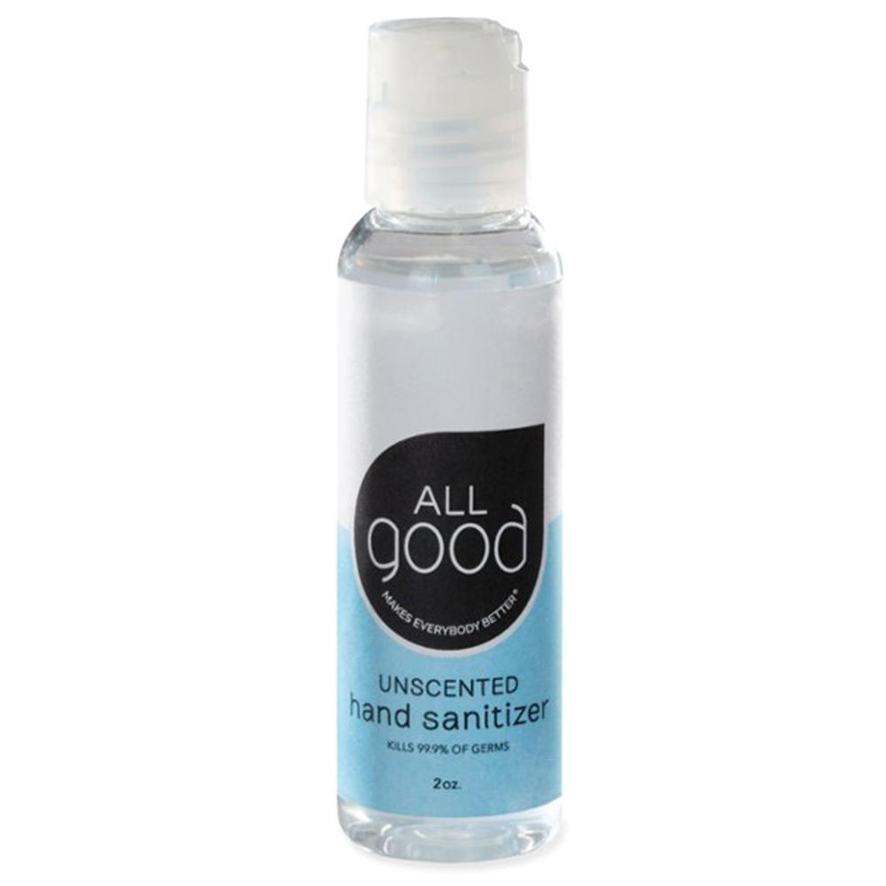 All Good Hand Sanitizer Gel Unscented 2oz Personal Care& - Hygeine All Good  (4468247527489)