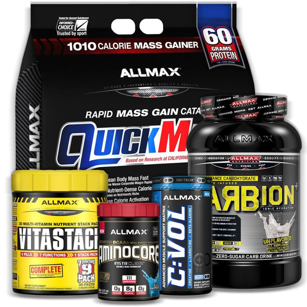 Allmax Nutrition Hard Gainer Mass Stack Sport Performance / Recovery Allmax Nutrition  (1161432301611)