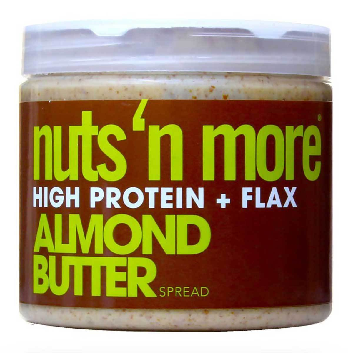 Nuts 'N More Almond Butter 16 Oz Other Supplements Nuts 'N More  (1059011067947)