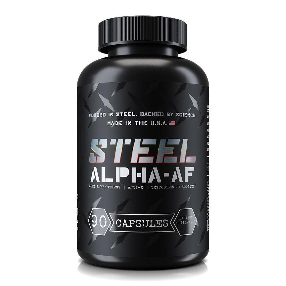 Steel Alpha AF 90 Capsules Specialty Health Products STEEL  (1838616543275)