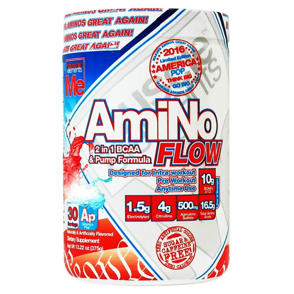 Muscle Elements Amino Flow 30 Servings Amino Acids Muscle Elements  (1059267608619)