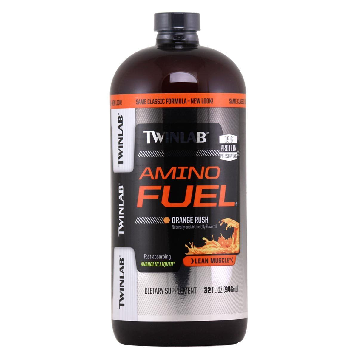 Twinlab Amino Fuel Concentrate 32oz Amino Acids Twinlab  (1058622177323)
