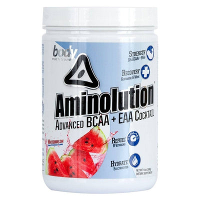 Body Nutrition Aminolution 30 Servings Amino Acids Body Nutrition Watermelon  (1059142926379)