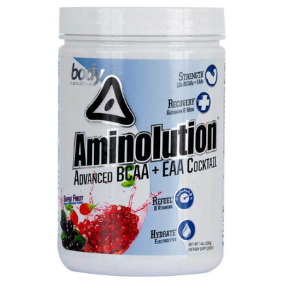 Body Nutrition Aminolution 30 Servings Amino Acids Body Nutrition Super Fruit  (1059142926379)