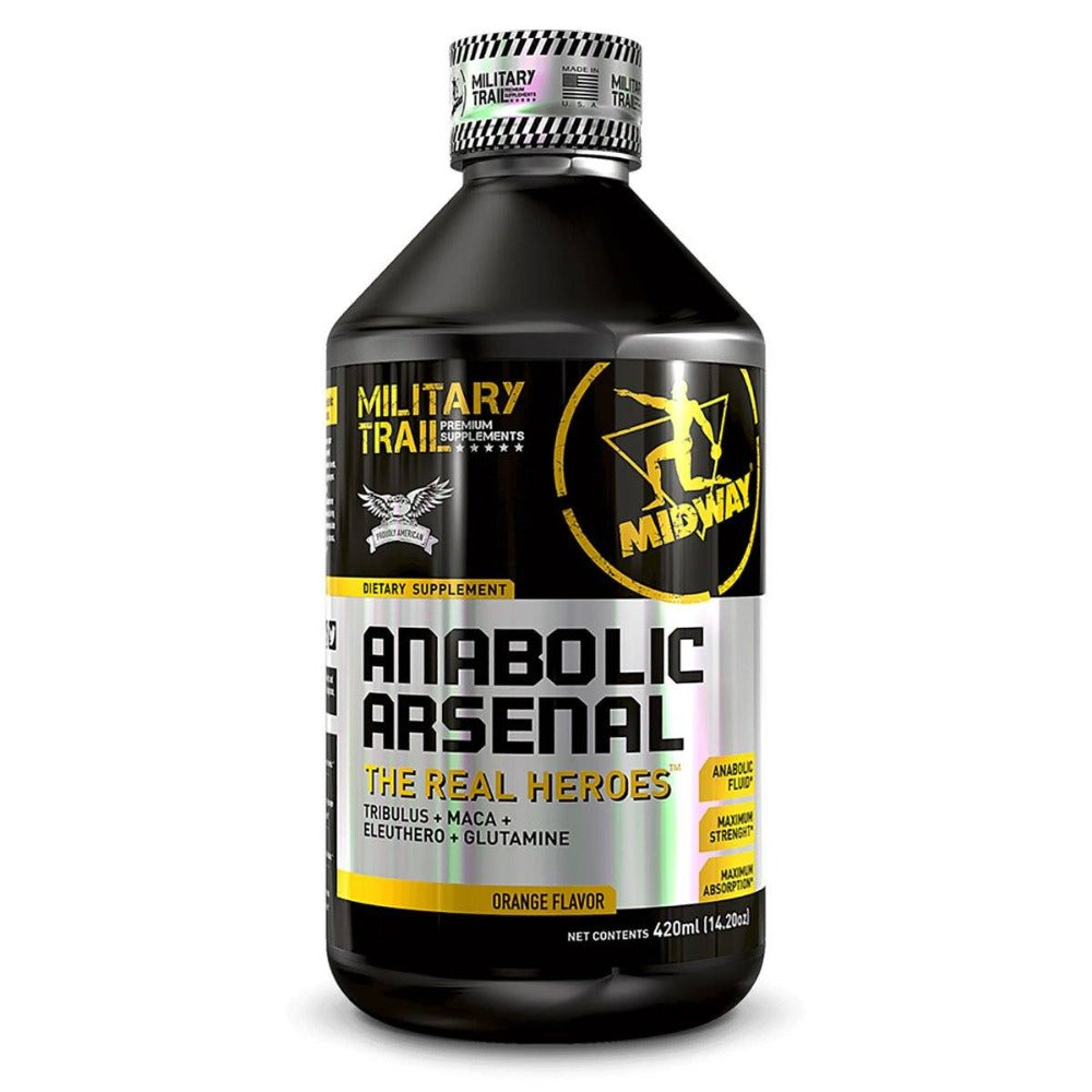 MILITARY TRAIL ANABOLIC ARSENAL 14 SERVINGS (ORANGE) Testosterone Boosters Military Trail  (1205100478507)