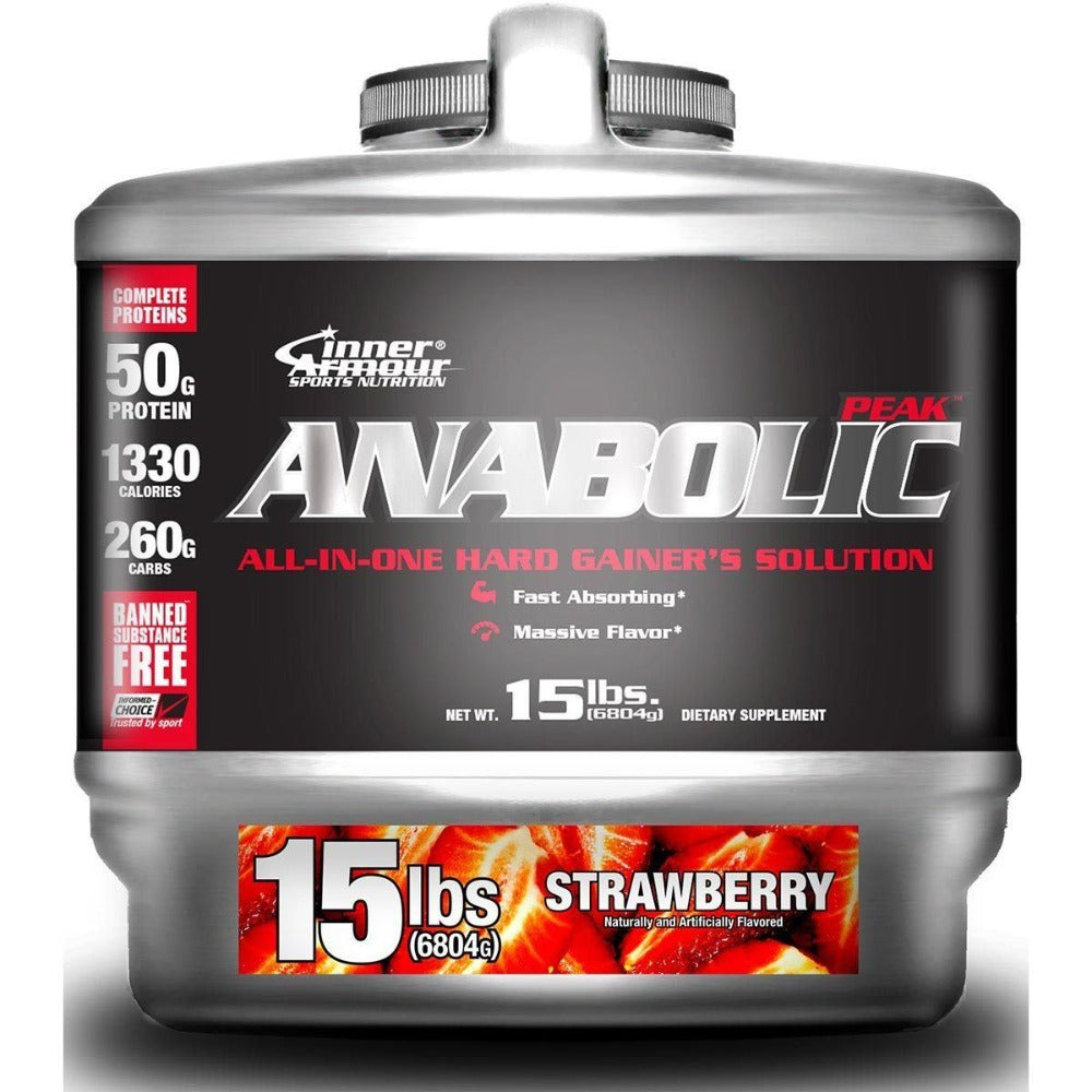 Inner Armour A-Peak Gainer 15 lbs. Protein Inner Armour  (1058861875243)