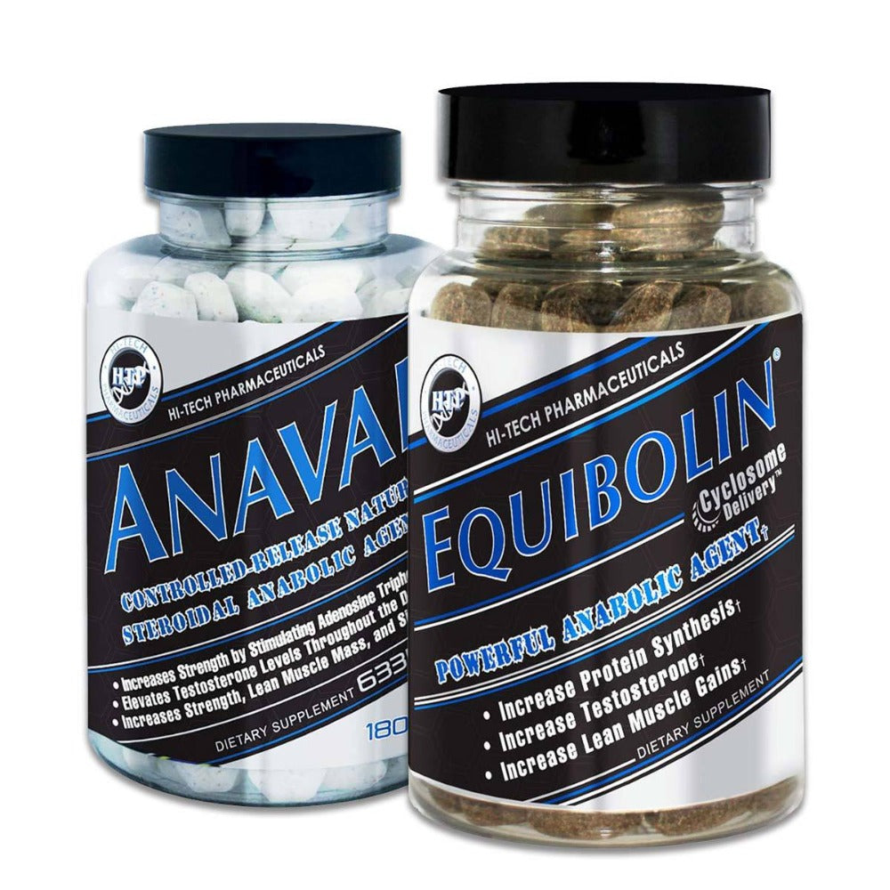Hi Tech Pharmaceuticals Anavar & Equibolin Stack Prohormones, Andro & Support Hi-Tech Pharmaceuticals  (1198287454251)