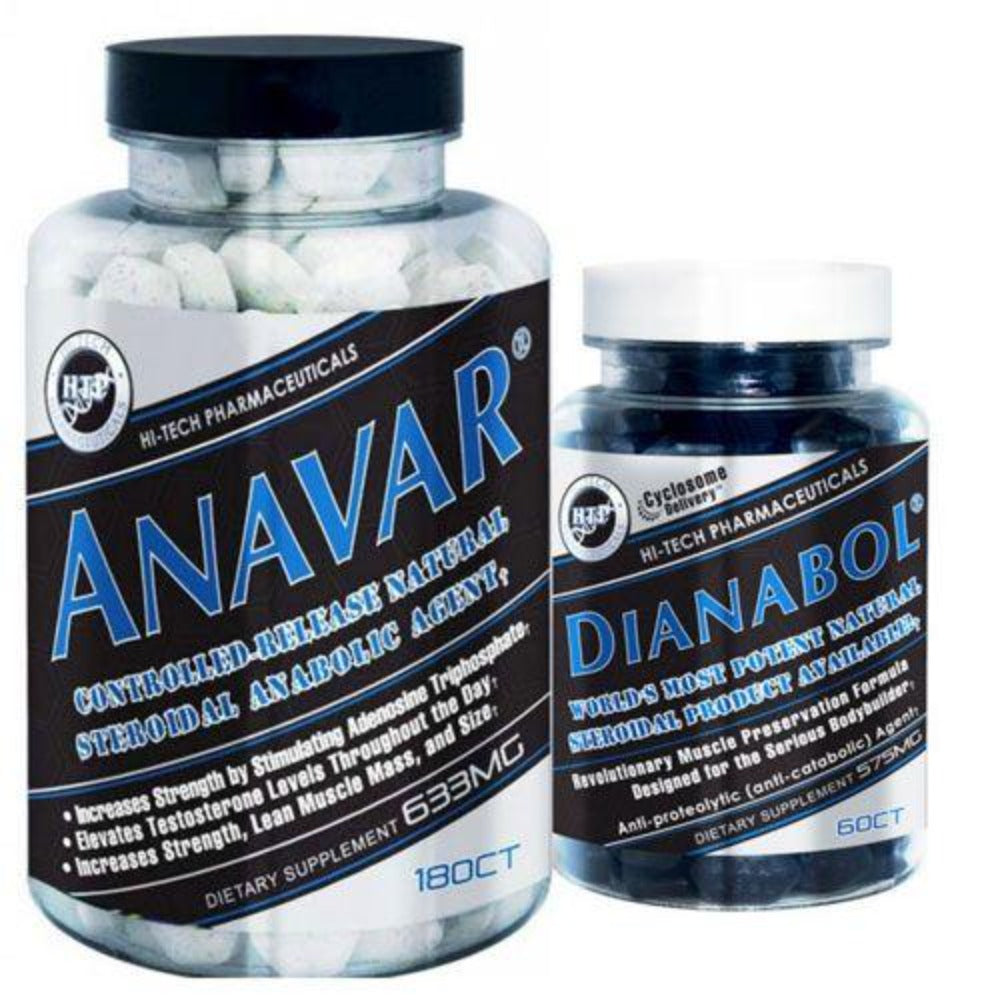 Hi Tech Pharmaceuticals Dianabol & Anavar Stack Prohormones, Andro & Support Hi-Tech Pharmaceuticals  (1198280081451)