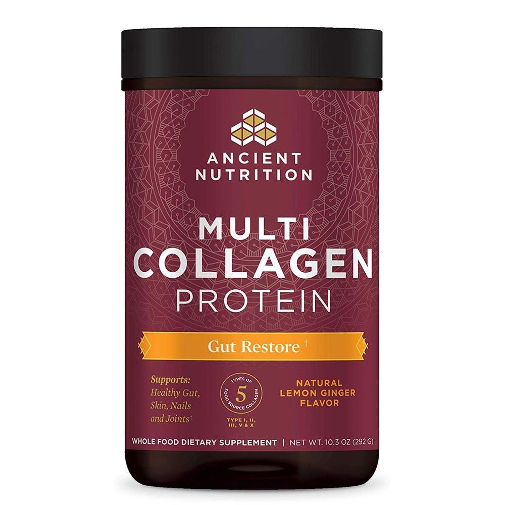 Ancient Nutrition Dr. Axe Multi Collagen Protein Gut Restore 24 Servings Specialty Health Products Ancient Nutrition  (4342524674113)