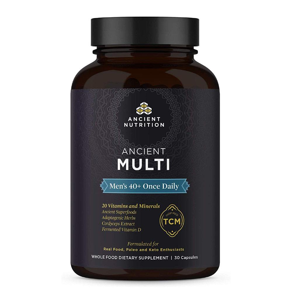 Ancient Multi Once Daily 30C Men's 40+ Multi Vitamins Ancient Nutrition  (4342484402241)