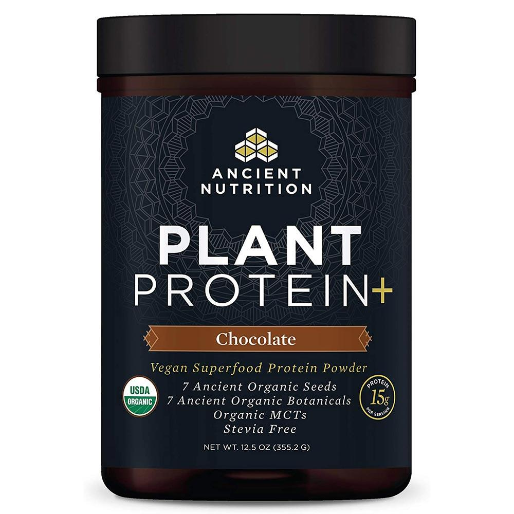 Ancient Nutrition Plant Protein + Protein Powders Ancient Nutrition Chocolate
