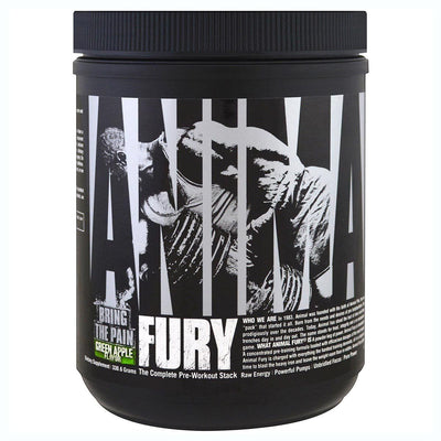 Universal Animal Fury 20 Servings Pre-workout Universal Green Apple  (1059279470635)