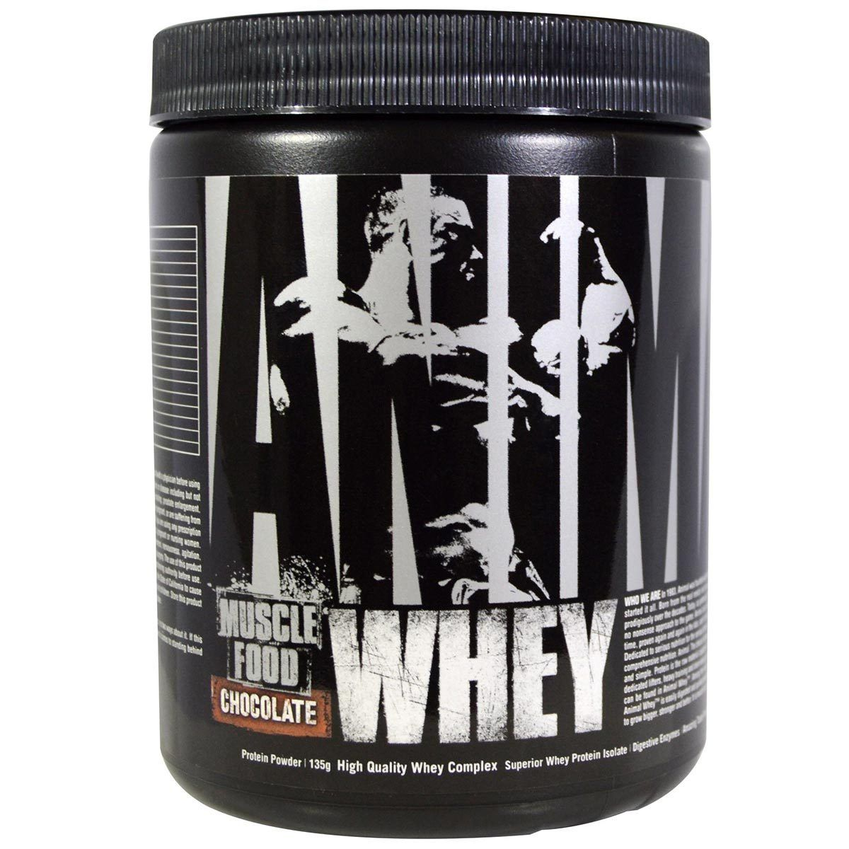 Universal Animal Whey Trial Bottle Chocolate Sport Performance / Recovery Universal  (1059332522027)