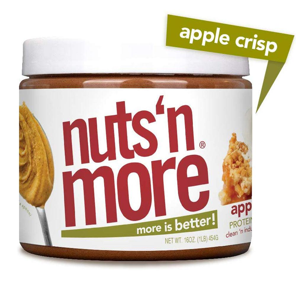 Nuts N More Apple Crisp 16oz Foods & - Juices Nuts 'N More  (4253122396203)