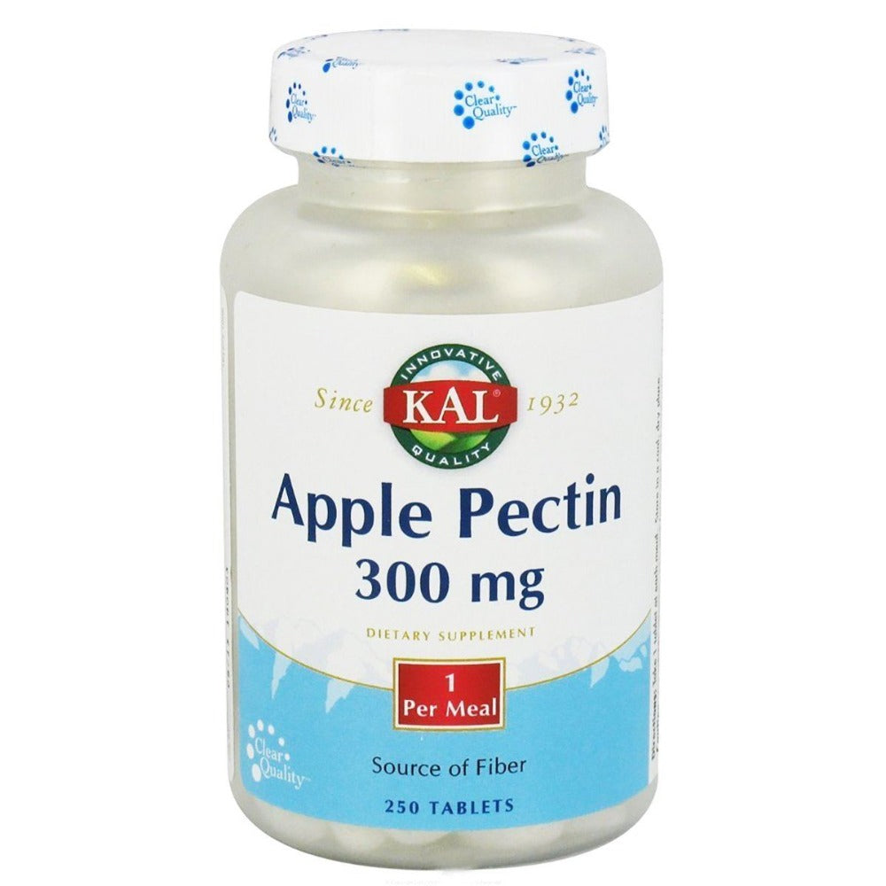 Kal Apple Pectin 300mg 250 Tabs Digestive Health / Probiotics Kal  (1057960198187)