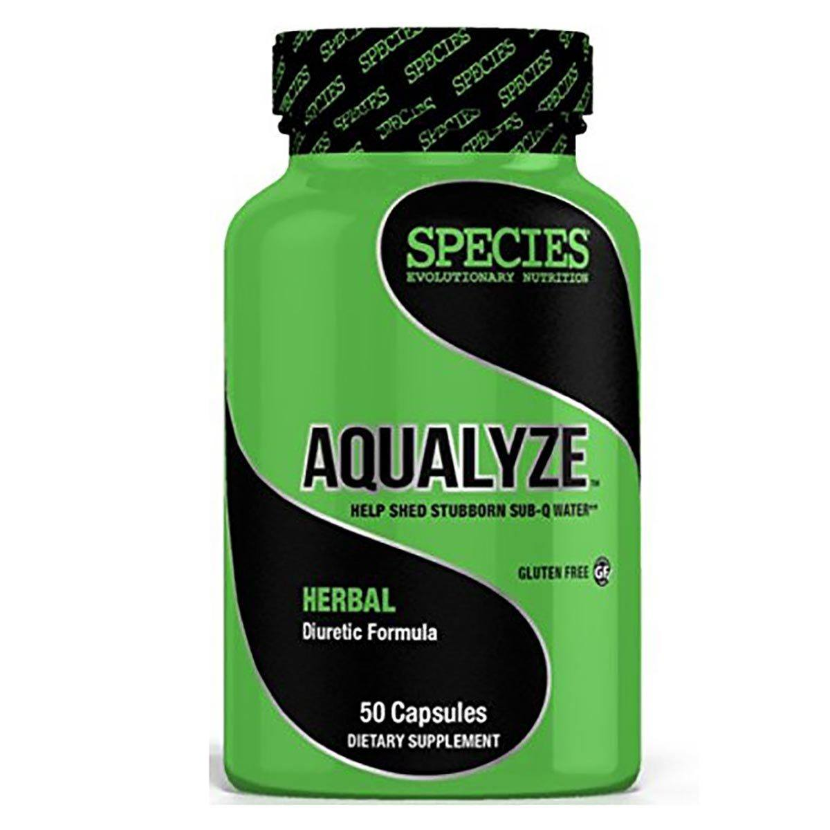 Species Nutrition Aqualyze 50 Caps Diet/Energy Species Nutrition  (1058164441131)