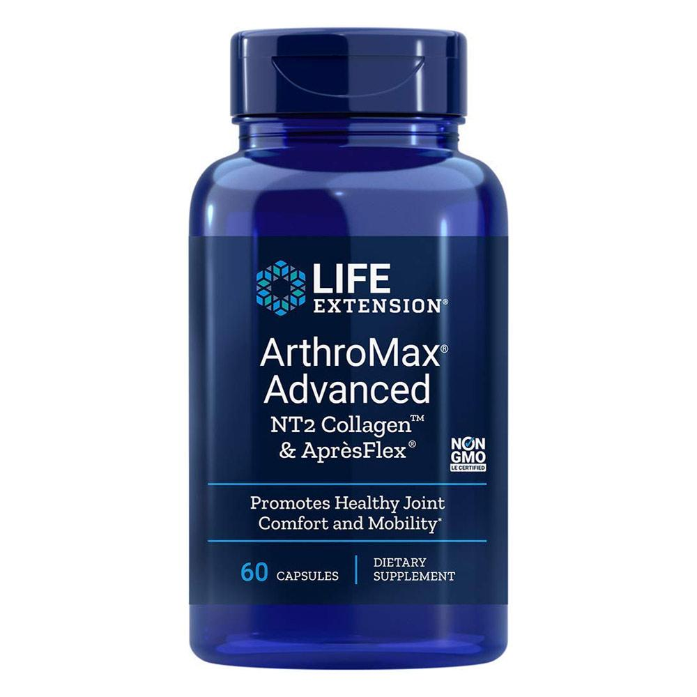 Life Extension ArthroMax Advanced 60 Capsules Joint Aid Life Extension  (4344422367297)