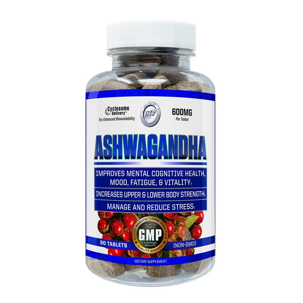 Hi-Tech Pharmaceuticals Ashwagandha 90 Tablets Herbs Hi-Tech Pharmaceuticals  (4430099480641)