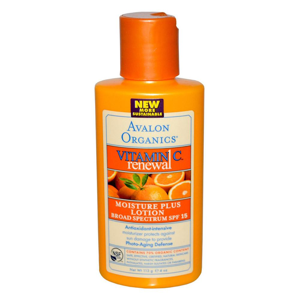 Avalon Vitamin C Lotion 4oz Specialty Health Products Avalon Organics  (1758786715691)