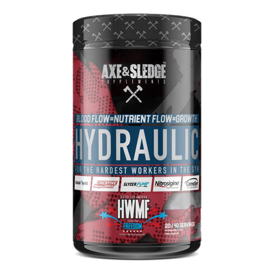 Axe & Sledge Hydraulic 40 Servings Sports Performance Recovery AXE & SLEDGE FREEDOM  (1812332544043)