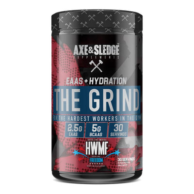 Axe & Sledge The Grind EAAs 30 Servings Amino Acids AXE & SLEDGE FREEDOM  (1812332511275)