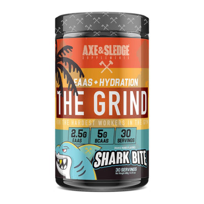 Axe & Sledge The Grind EAAs 30 Servings Amino Acids AXE & SLEDGE SHARK BITE  (1812332511275)
