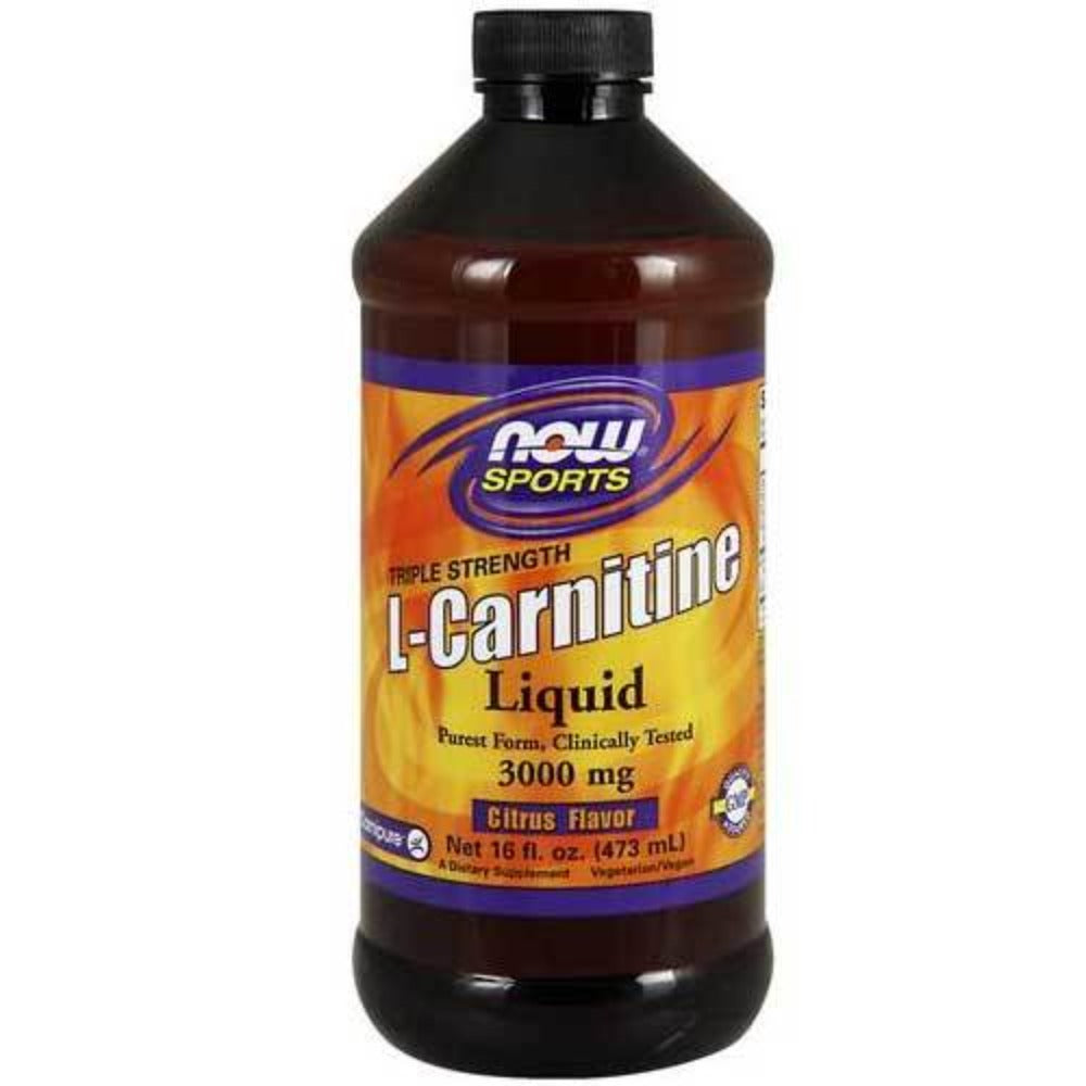 Now Foods Carnitine Liquid 3000 Mg 16 Oz Amino Acids Now Foods  (1059138306091)