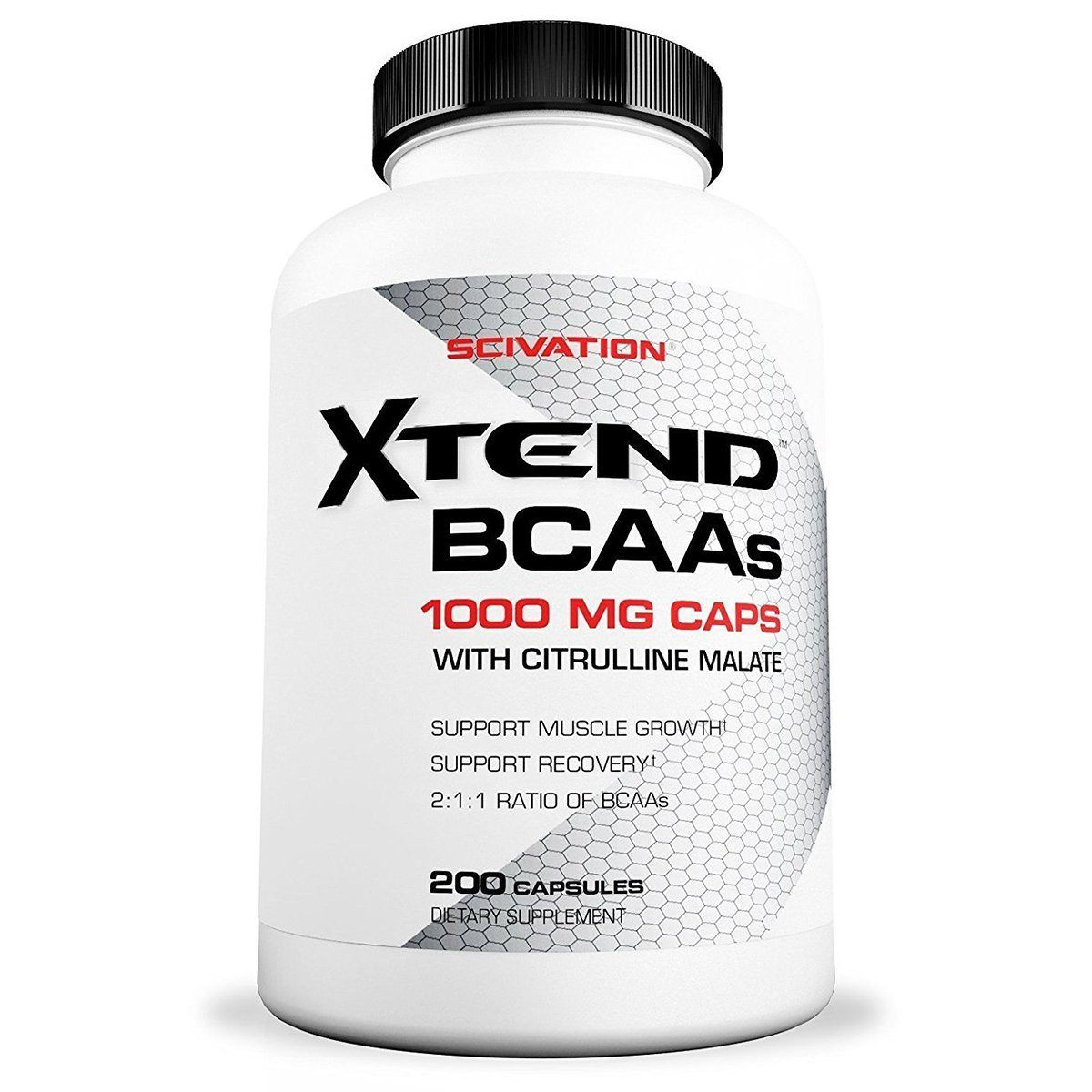 SCI XTEND BCAA 1000mg 200C Amino Acids Scivation  (1262415937579)