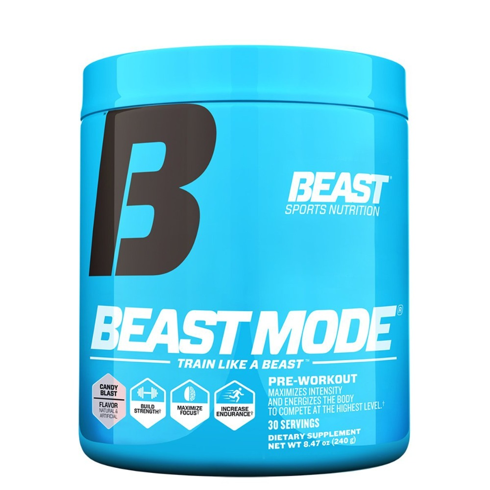 Beast Sports Nutrition Beast Mode 30 Servings Pre-workout Beast Sports Nutrition  (1058786836523)