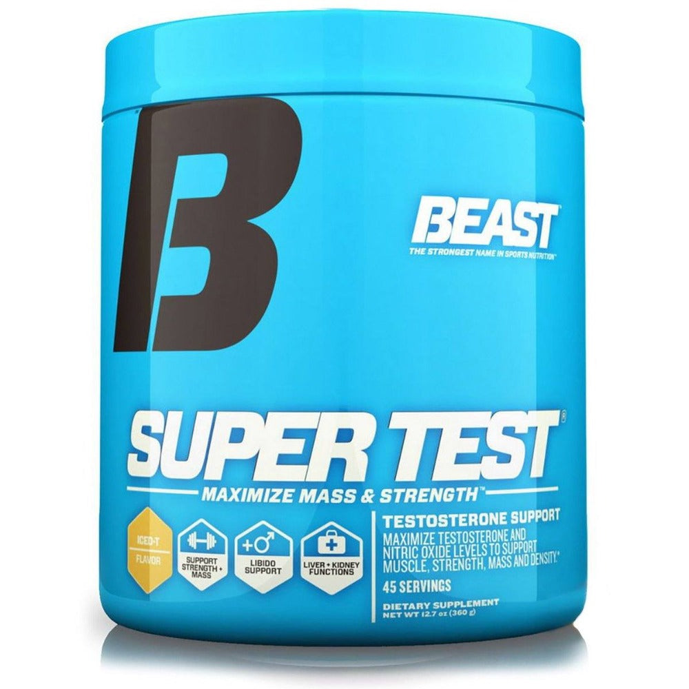 Beast Sports Nutrition Super Test Ice-T 45 Servings Testosterone Boosters Beast Sports Nutrition  (1058786279467)