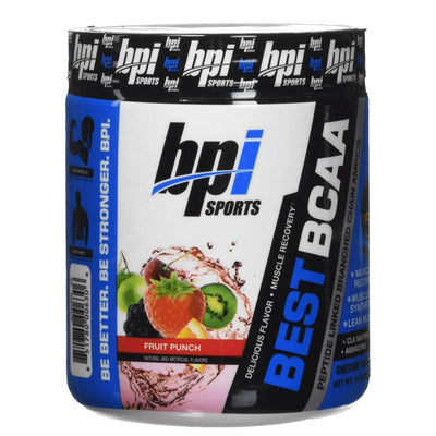 BPI Sports Best BCAA 30 Servings Amino Acids Bpi Fruit Punch  (4284737552427)