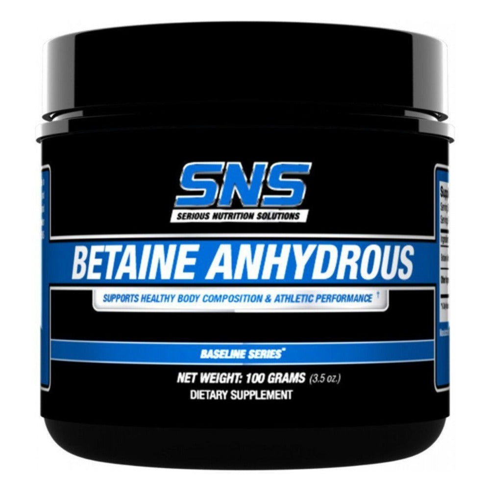 Serious Nutrition Solutions Betaine Anhydrous 100 Grams Other Supplements Serious Nutrition Solutions  (1059062906923)