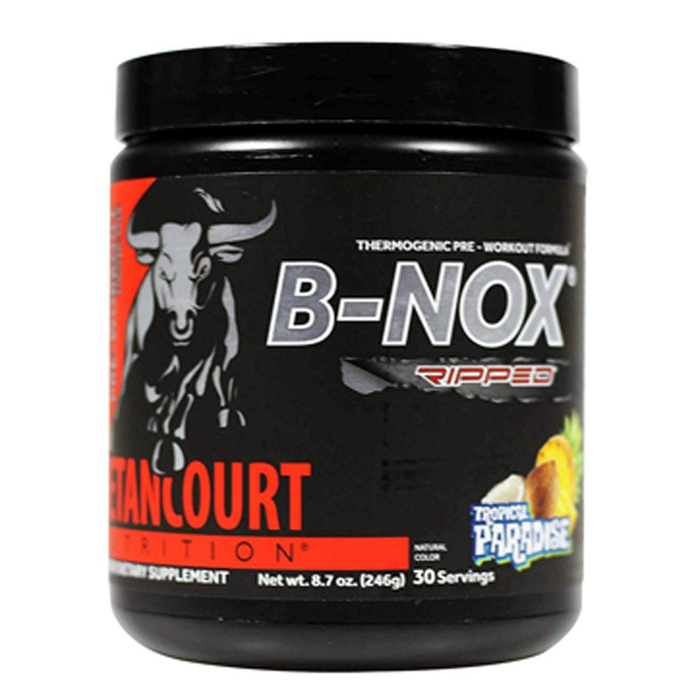 Betancourt Nutrition B-Nox Ripped 30 Servings | Thermogenic Pre-Workout Sports Performance Recovery Betancourt Nutrition Tropical Paradise  (1735207452715)