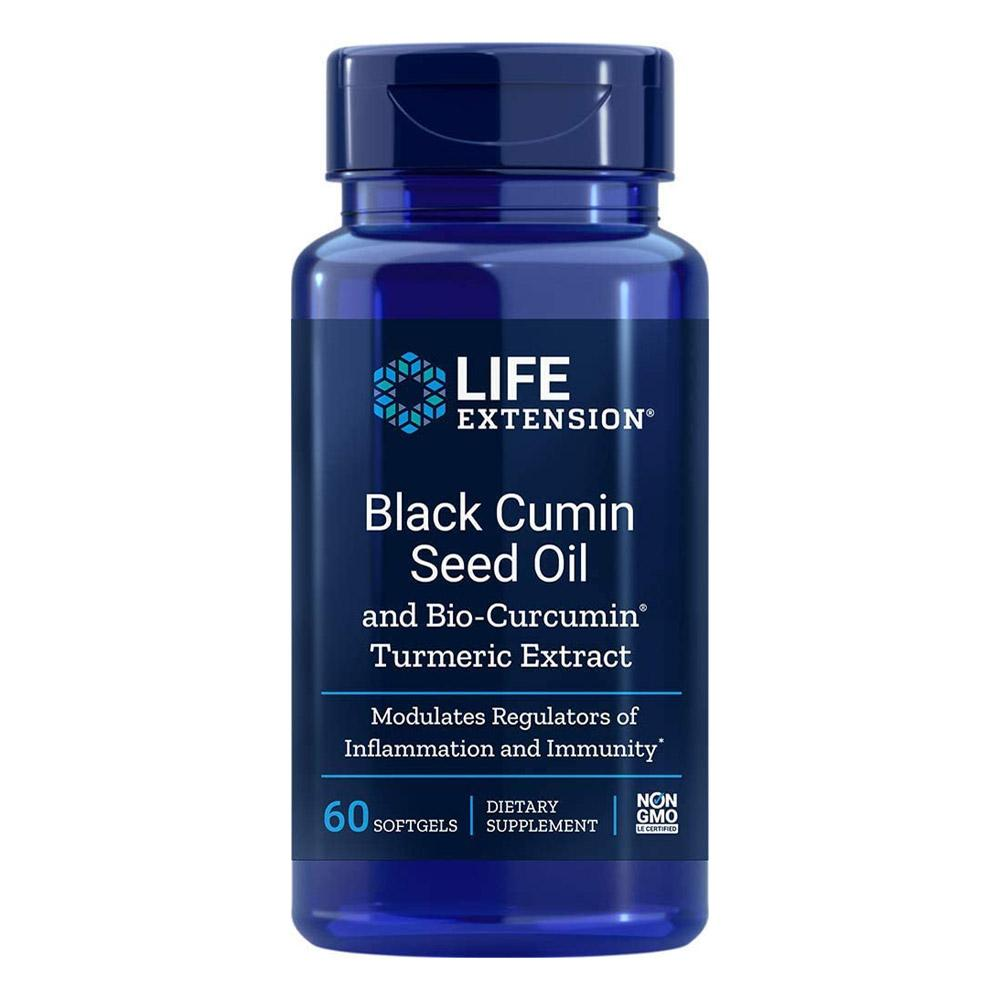 Life Extension Black Cumin Seed Oil with Bio-Circumin 60 Softgels Minerals Life Extension  (1058860957739)