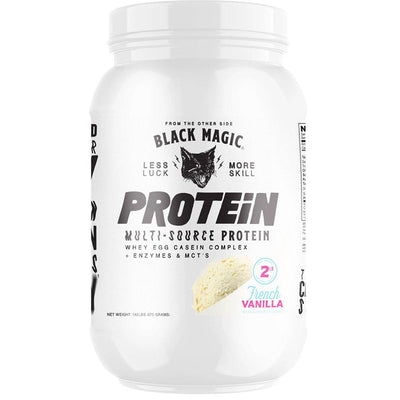 Black Magic Protein 2lb Protein Powders Black Magic French Vanilla