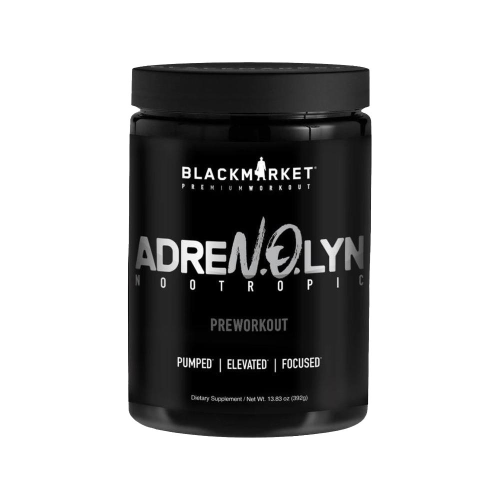 Black Market Labs Adrenolyn Nootropic 25 Servings Pre-Workouts Black Market Labs  (4345863143489)