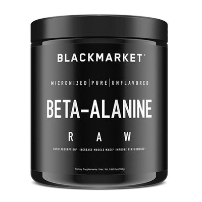 Black Market Labs Beta-Alanine 60 Servings Amino Acids Black Market Labs  (4345881559105)