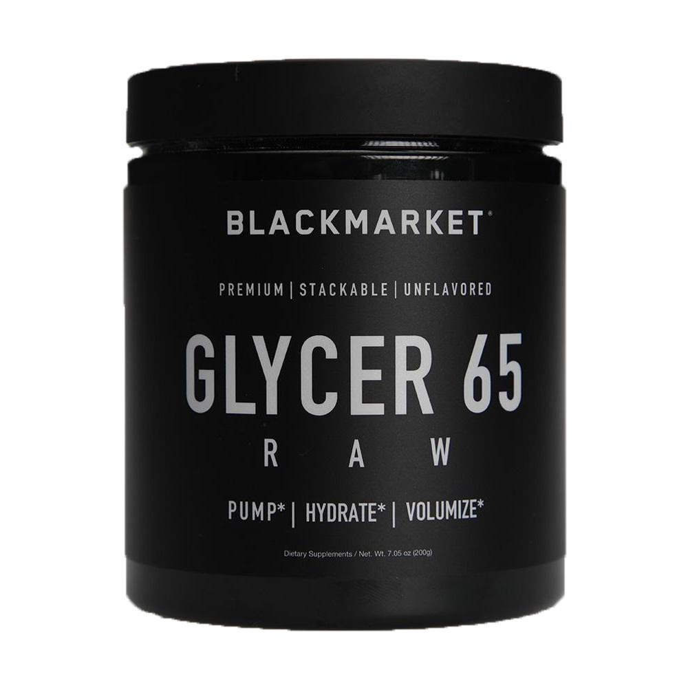 Black Market Labs Glycer 65 Raw 100 Servings Pre-Workouts Black Market Labs  (4401976737857)