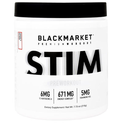 Black Market Labs Stim 30 Servings Pre-Workouts Black Market Labs Tiger's Blood  (4345879003201)